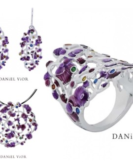 Calicaos Handmade Violet Collection by Daniel Vior
