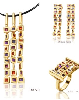 Cuadros Handmade 18ct Gold Collection by Daniel Vior