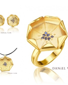 Loto 18ct Gold Handmade Collection by Daniel Vior