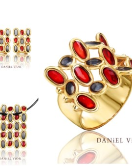 Elipses Handmade 18ct Gold Collection by Daniel Vior