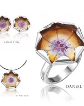 Loto Silver Handmade Violet Collection by Daniel Vior