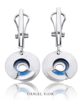 Latiaxis Silver Handmade Earrings by Daniel Vior