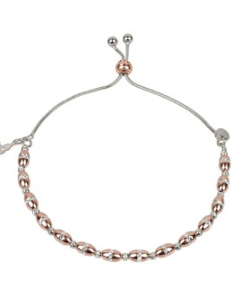 Vamp Chic Rose Gold Bold Bracelet Vamp London