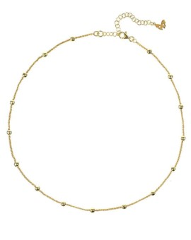 Vamp Chic Gold Collar Necklace Vamp London
