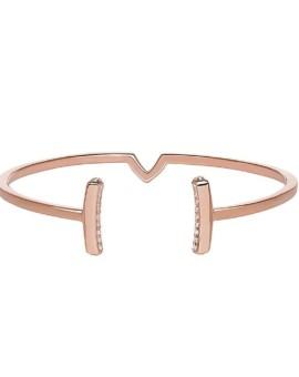Attitude Rose Gold Bracelet Vamp London