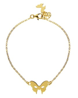 Masquerade Mask Gold Bracelet Vamp London