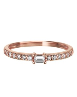 Sahara Rose Gold Band Ring Vamp London