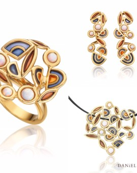 Filam Handmade 18ct Gold Opal Collection by Daniel Vior