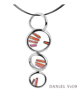Palma Silver Handmade Necklace by Daniel Vior