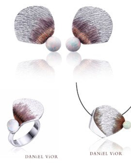 Clino Handmade Opal Silver Collection by Daniel Vior