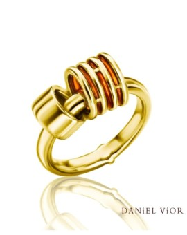 Anelles 18ct Gold Handmade Ring by Daniel Vior