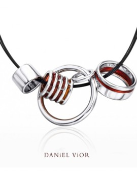 Anelles Silver Handmade Necklace by Daniel Vior
