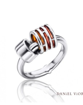Anelles Silver Handmade Ring by Daniel Vior