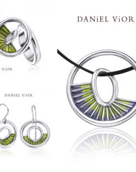 Equinox Handmade Silver Green Collection by Daniel Vior