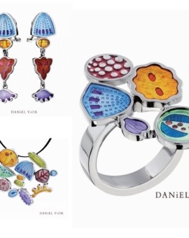 Diatomeas Handmade Silver Collection by Daniel Vior