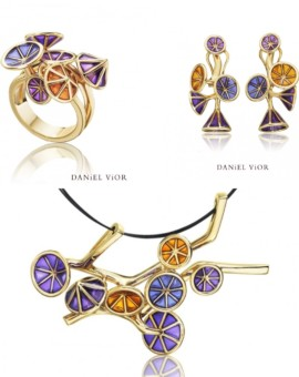 Ipomea Handmade 18ct Gold Collection by Daniel Vior