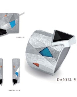 Metafaz Silver Handmade Onyx Collection by Daniel Vior