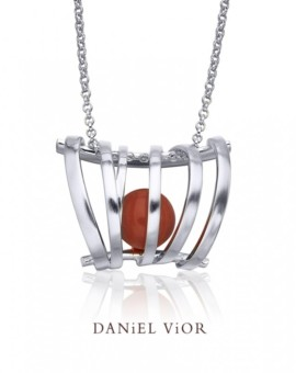 Asir Handmade Silver Necklace by Daniel Vior