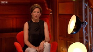 Katie Derham wears Joubi on BBC Proms 26.07.14 2