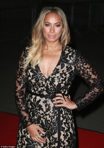 Leona Lewis in JOUBI at the Asian Awards, Mail Online, (2) 03.02.16