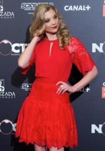 Natalie Dormer wearing the Promenade ring at the Madrid Film Festival