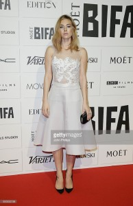Vanessa Kirby in JOUBI at BIFA's, 06.12.15