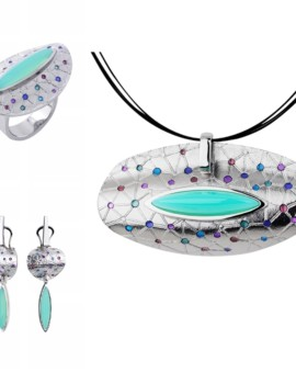 Citos Handmade Silver Onyx Collection by Daniel Vior