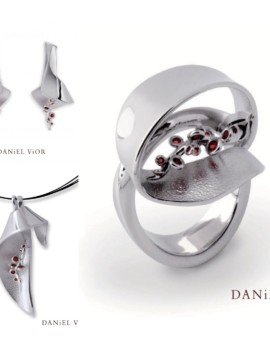 Ligula Silver Handmade Collection by Daniel Vior