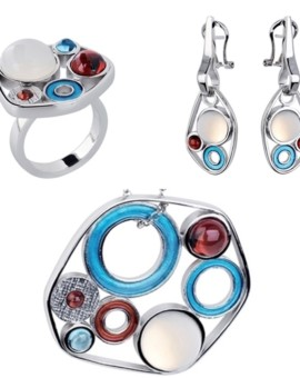 Zonaria Handmade Silver Cabochon Collection by Daniel Vior
