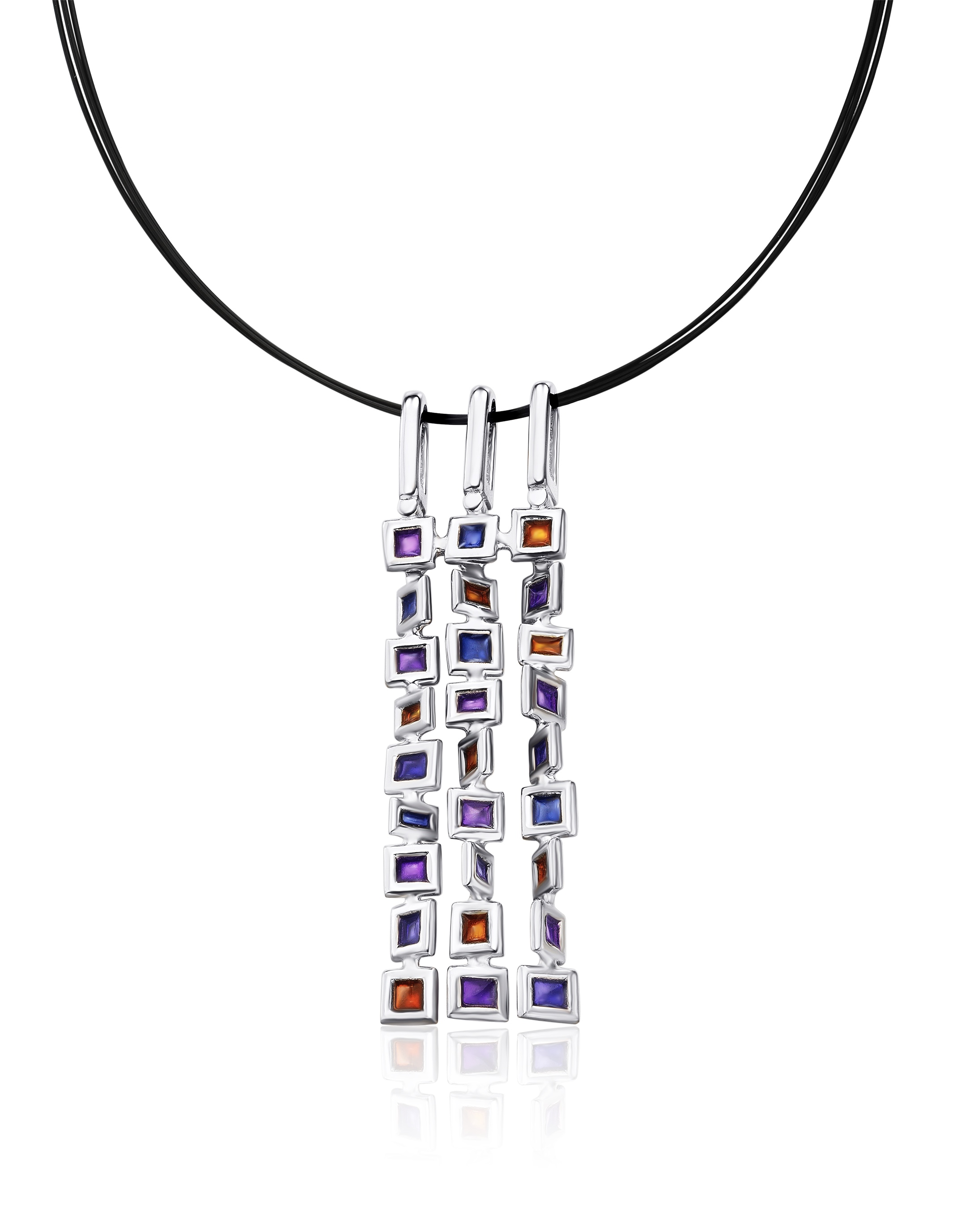 crafts arts by expand victoria item enamel charles full necklace silver horner click to