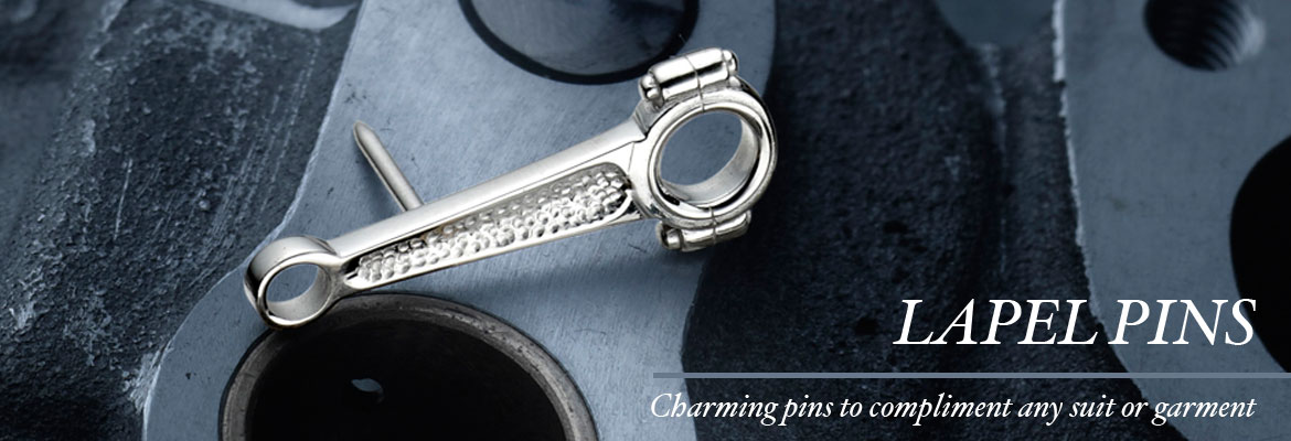 Lapel Pins - Charming pins to compliment any suit or garment