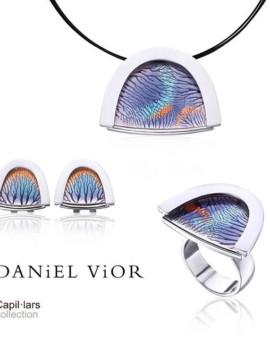 Capillars Handmade Silver Collection by Daniel Vior