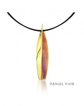 Anciteri Handmade 18ct Gold Necklace by Daniel Vior