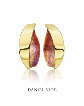 Anciteri Handmade 18ct Gold Earrings by Daniel Vior