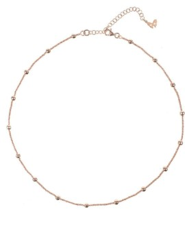 Vamp Chic Rose Gold Collar Necklace Vamp London