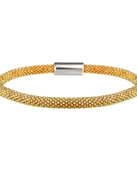 Mesh Dainty Gold Bracelet Vamp London