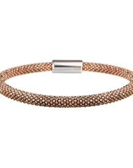 Mesh Dainty Rose Gold Bracelet Vamp London