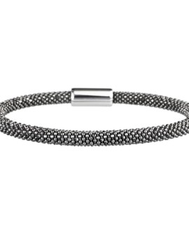 Mesh Dainty Oxidised Bracelet Vamp London