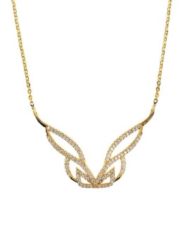 Hidden Mask Gold Pure Necklace Vamp London