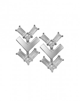 Tre Vie Follow Me Stud Earrings Vamp London