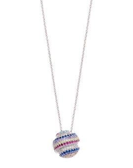 Gobstopper Necklace Handmade Sterling Silver Joubi London