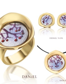 Baies Handmade 18ct Gold Collection by Daniel Vior