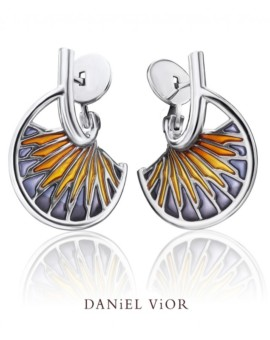 Tarsus Silver Handmade Earrings by Daniel Vior