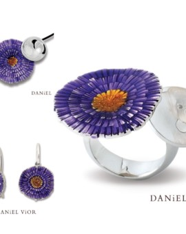Basia Solaris Silver Handmade Collection by Daniel Vior