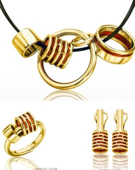 Anelles 18ct Gold Handmade Collection by Daniel Vior