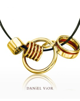 Anelles 18ct Gold Handmade Necklace by Daniel Vior