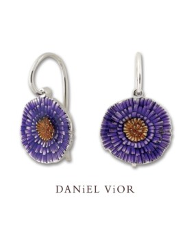 Basia Solaris Silver Handmade Earrings by Daniel Vior