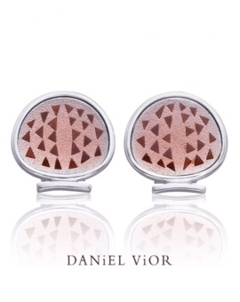 Magrana Handmade Silver Earrings by Daniel Vior