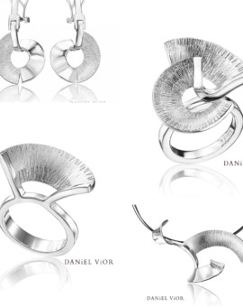 Apoaxis Handmade Solid Silver Collection by Daniel Vior