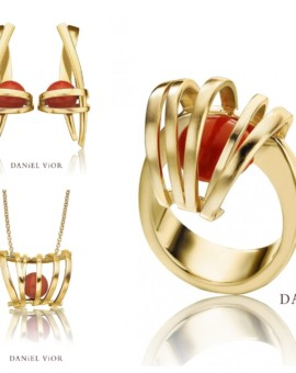 Asir Handmade 18ct Gold Coral Collection by Daniel Vior